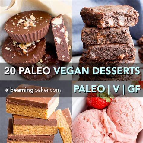 top 20 vegan paleo dessert recipes of 2017 v gf df beaming baker