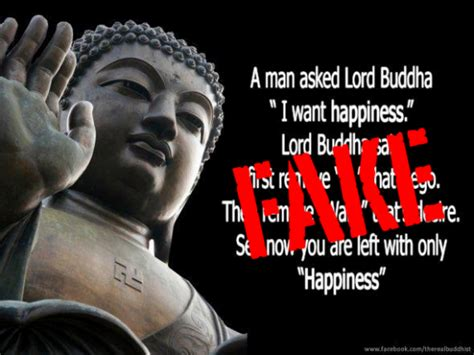 man    buddha   happiness fake