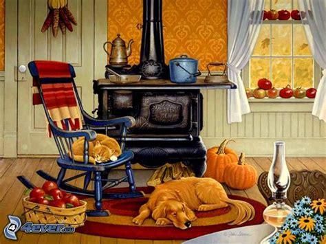 chien cuisiné cuisine chien dessiné dessiné chien dormant dormant chaise à bascule pommes
