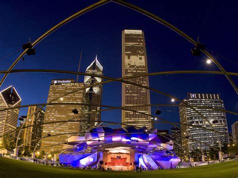 pavilion millennium park chicago illinois wallpapers hd