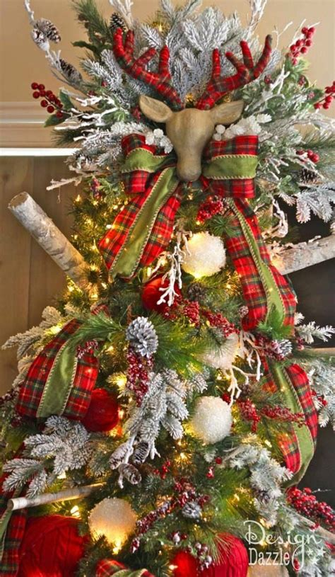 christmas tree designer plaid christmas tree ideas refresh restyle 4249