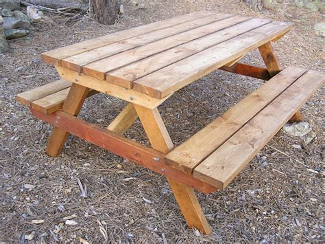 wood picnic table plans wooden ideas wood