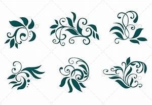 Floral and flower decorations by VectorTradition
