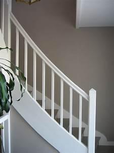 Peindre Escalier En Bois : peindre escalier bois en blanc estein design ~ Dailycaller-alerts.com Idées de Décoration