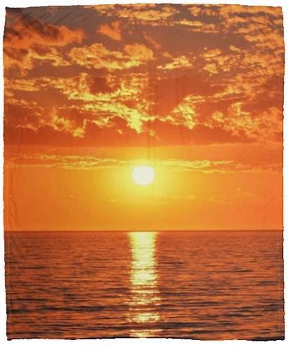 Blanket Summer Sunset Beach Fleece Lover Sherpa