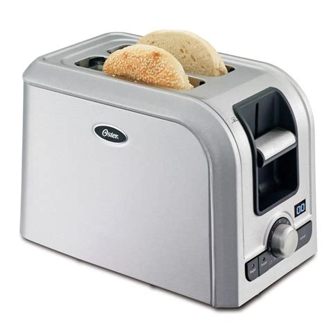 toaster stainless oster 2 slice brushed stainless steel toaster tsstrts2s2