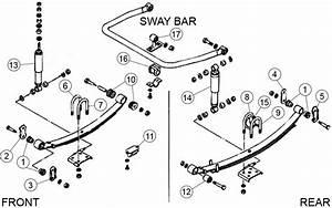 Diagrams For Suzuki    Suspension