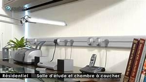 Goulotte Electrique Avec Prise : eubiq rail lectrique pour prise de courant design et mobile youtube ~ Mglfilm.com Idées de Décoration