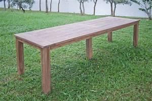 Gartentisch 12 Personen : teak gartentisch 300 x 100 cm ~ Whattoseeinmadrid.com Haus und Dekorationen