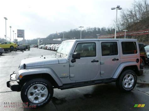 jeep sahara silver 2013 jeep wrangler unlimited sahara 4x4 in billet silver