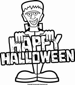 Halloween black and white free halloween clipart 2 ...