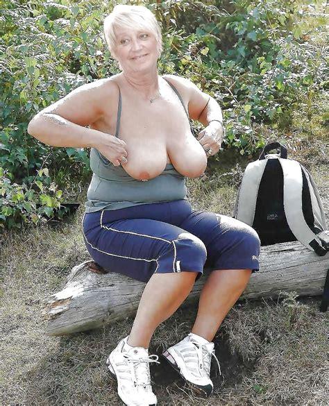 German Old Granny Nude