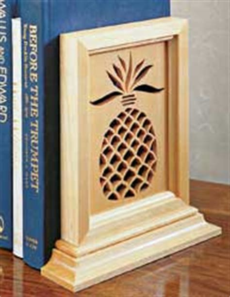 wooden bookends plans