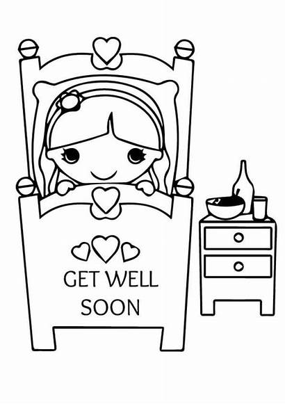 Coloring Soon Well Pages Printable Cards Card