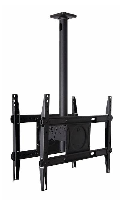 Tv Ceiling Mount Tvs Dual Flat Sa