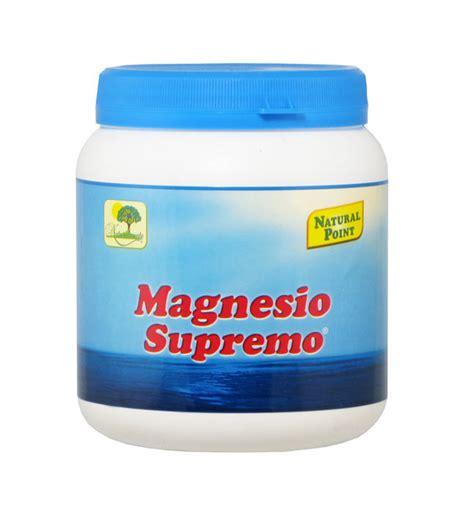 magnesio supremo 300 magnesio supremo 300 grammi integratore alimentare