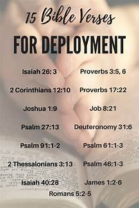 15 Bible Verses... Military Aid Quotes