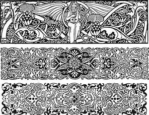 Art Nouveau Clipart (68+)