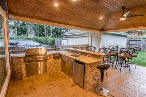 outdoor kitchen designs houston outdoor kitchens hhi patio covers houston 3848