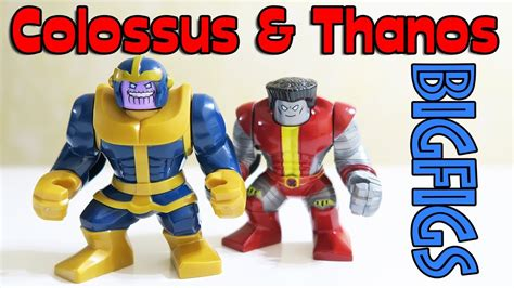 lego unofficial colossus thanos marvel super heroes big