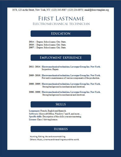 20440 microsoft word 2007 resume template 2007 word resume template annecarolynbird