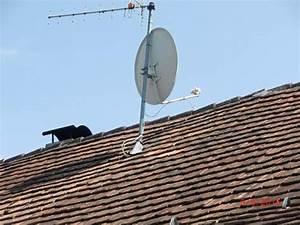 Ausrichtung Sat Schüssel : hausdachantenne mit sat sch ssel in h chst antenne sat receiver kaufen und verkaufen ber ~ Eleganceandgraceweddings.com Haus und Dekorationen