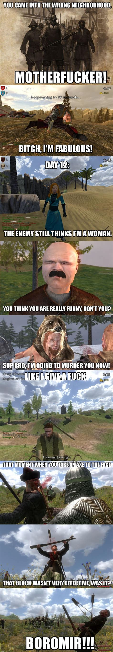 Mount And Blade Memes - oh mount and blade one of the best games in existence by jake the dawg meme center