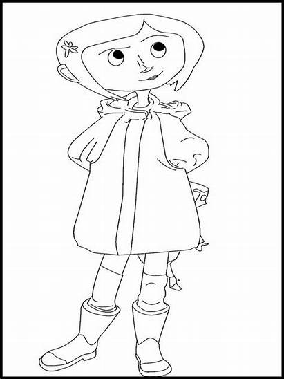 Coraline Coloring Pages Printable Colouring Websincloud Activities