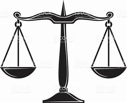 Justice Balanza Clipart Scales Justicia Vector Balance