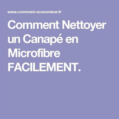 nettoyer canapé microfibre 1000 idées sur le thème canapé microfibre sur