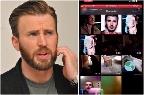 Chris Evans Accidentally Shared A Very Private Photo On ...