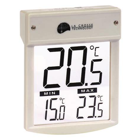 station temp 233 rature la crosse technology wt62g8 thermometre exterieur de fenetre en vente sur