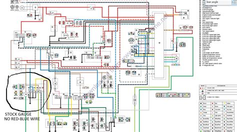 tachometer wiring diagram for yamaha motorcycles wiring