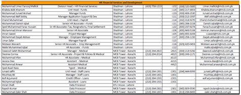 hr department phone number muslim bank ltd mcb bank ltd mcb bank ltd