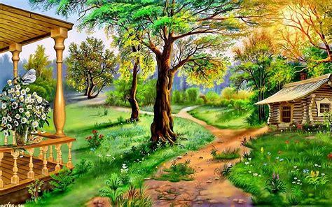Natural Art Sceneries HD Wallpapers