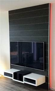 Tv Wand Design : 1000 images about interieur on pinterest tvs tv walls and wands ~ Sanjose-hotels-ca.com Haus und Dekorationen