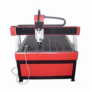 CNC Carving Machine with Air Cooling Spindle and DSP