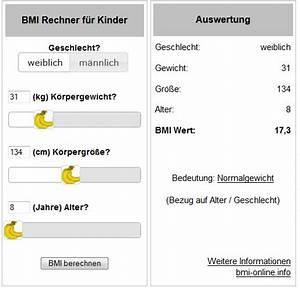 Bmi Berechnen Jugendliche : bmi rechner kinder f r die eigene webseite widget banane ~ Themetempest.com Abrechnung