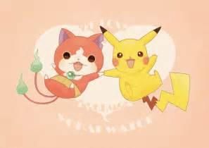 we can love both pokemon and yo kai watch