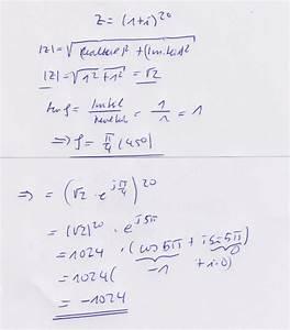 Alg Berechnen 2015 : komplexe zahlen 1 i 20 mathelounge ~ Themetempest.com Abrechnung