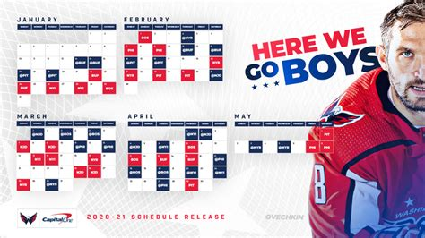 Capitals Announce 2020-21 Regular-Season Schedule | NHL.com