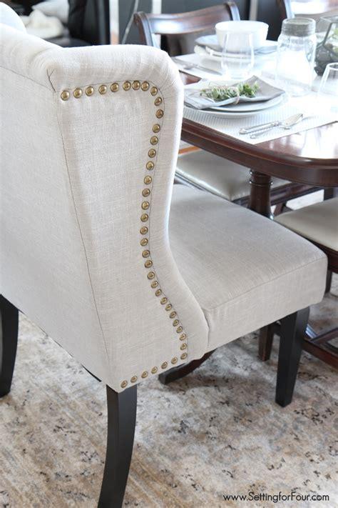furniture green velvet wingback dining chair slipcover