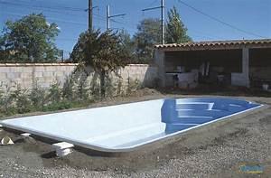 Piscine Coque Pas Cher : coque piscine pas cher enterrer une piscine bois idea mc ~ Mglfilm.com Idées de Décoration