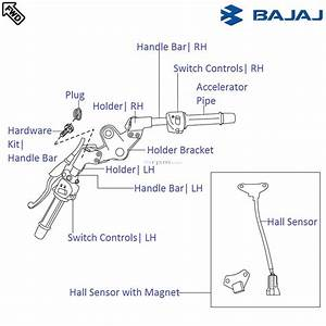 Bajaj Pulsar 220f Dtsi  Handle Bar