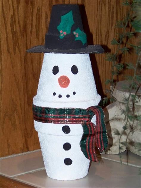 christmas crafts make a snowman out of a cup dump a day