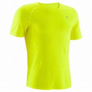 Tee Shirt Jaune Homme : tee shirt homme running ~ Melissatoandfro.com Idées de Décoration