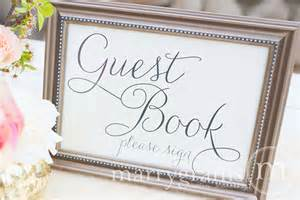 ivory wedding guest book guest book table card sign wedding reception seating signage