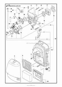 Husqvarna 555 Rxt Parts Diagram For Carburetor Air Filter