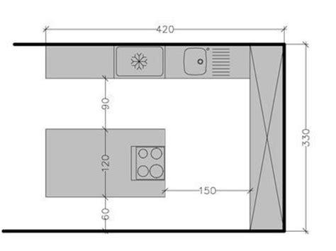 hauteur des prises dans une cuisine plan de cuisine avec îlot central les 6 exemples à