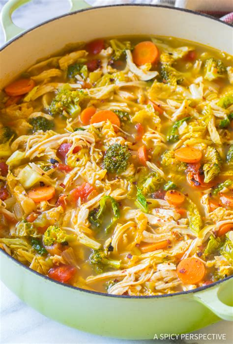 recipes for chicken soup southwest chicken detox soup a spicy perspective